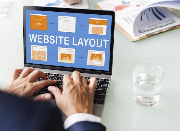 Web Template Website Design Concept